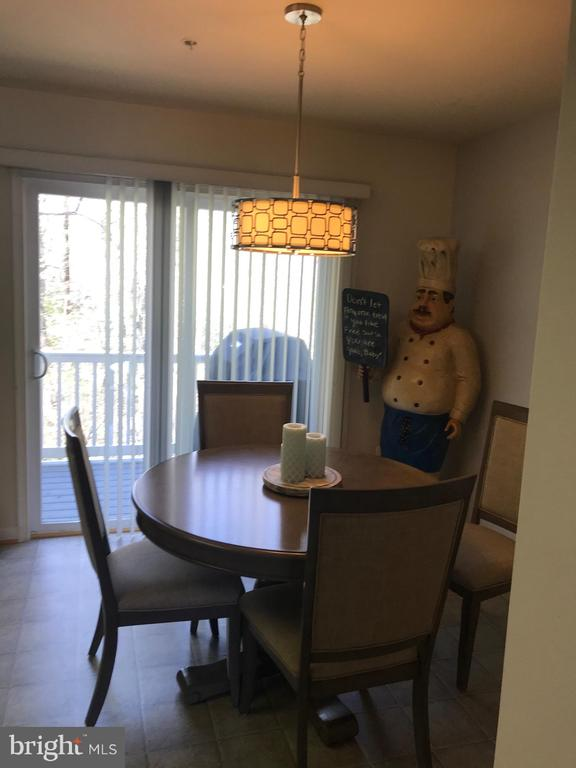 Dining area - 7761 VALLEY OAK DR #208, ELKRIDGE