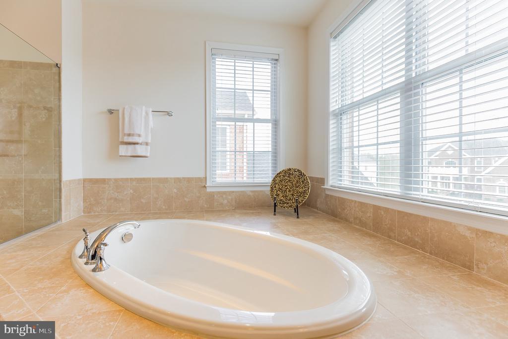 Roman Soaking Tub in Master Bathroom - 11504 PEGASUS CT, UPPER MARLBORO