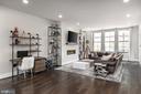 Living Room, 10' Ceilings, Upper Level 1 - 44665 BRUSHTON TER, ASHBURN