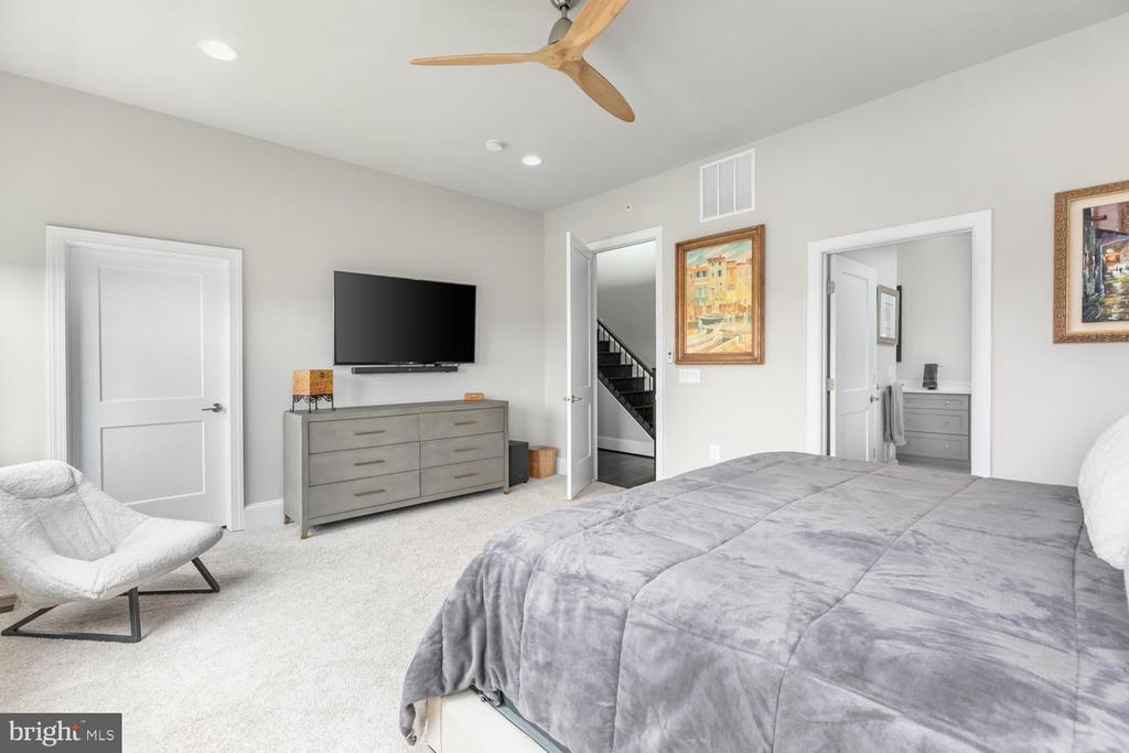 10' Ceilings, Expansive Master Walk-In Closet - 44665 BRUSHTON TER, ASHBURN