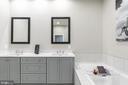 Soaking tub,  Quartz Counters, Upper Level 2 - 44665 BRUSHTON TER, ASHBURN