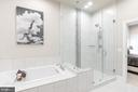Frameless Oversize Shower, Upper Level 2 - 44665 BRUSHTON TER, ASHBURN