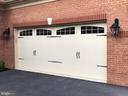 Upgraded Wide Designer Garage Doors - 11504 PEGASUS CT, UPPER MARLBORO