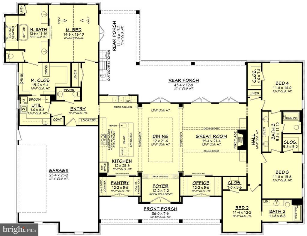 America's Best Home Plans - 1532 MEADOW BRANCH AVE, WINCHESTER