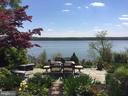 Rear Side Patio Overlooking the Potomac! - 3905 BELLE RIVE TER, ALEXANDRIA