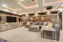Incredible coffered ceilings. - 47652 PAULSEN SQ, POTOMAC FALLS