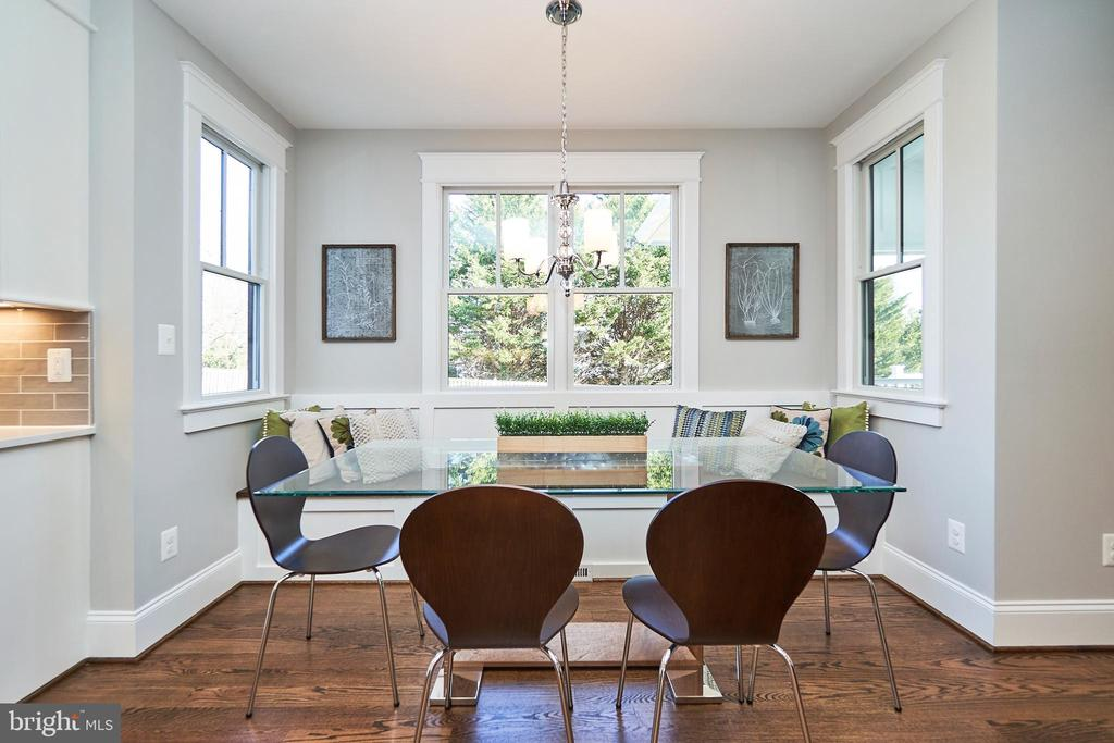 Breakfast nook-Same  model, different location - 4042 21ST ST N, ARLINGTON