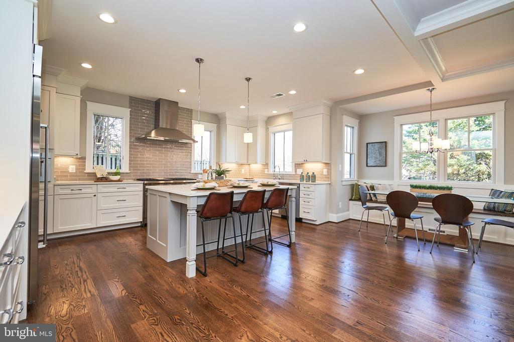 Kitchen/bfast nook-Same  model, different location - 4042 21ST ST N, ARLINGTON