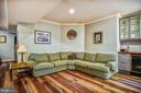 Recreation Room on Lower Level - 27 E MASONIC VIEW AVE, ALEXANDRIA