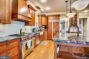 Kitchen - 27 E MASONIC VIEW AVE, ALEXANDRIA