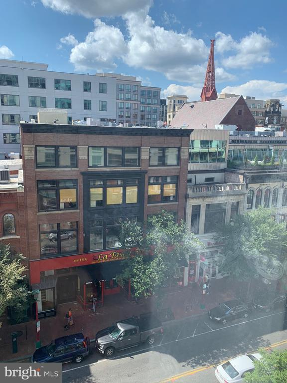 Bed room window views - 777 7TH ST NW #518, WASHINGTON