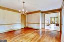 Dining Room - 14660 SENECA RD, DARNESTOWN