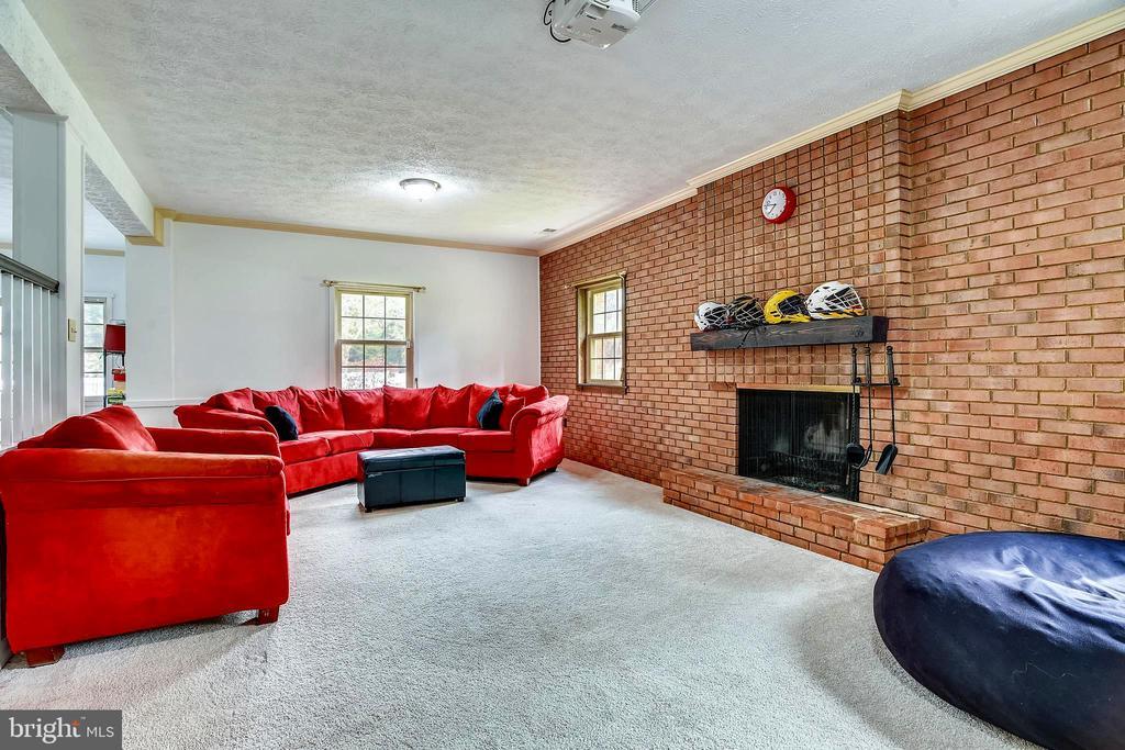 Lower Level Family Room - 14660 SENECA RD, DARNESTOWN