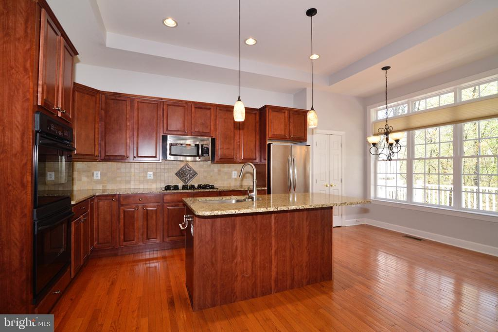 Bright and Sunny Kitchen with Breakfast Nook. - 18229 CYPRESS POINT TER, LEESBURG