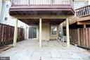 Back yard - 19145 GROTTO LN, GERMANTOWN