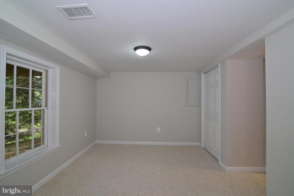 Bedroom #4 Lower Level - 11612 OLD BROOKVILLE CT, RESTON