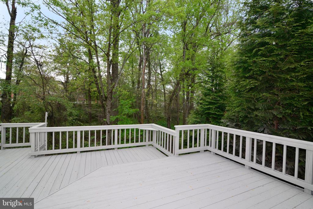 View from Deck - 11612 OLD BROOKVILLE CT, RESTON