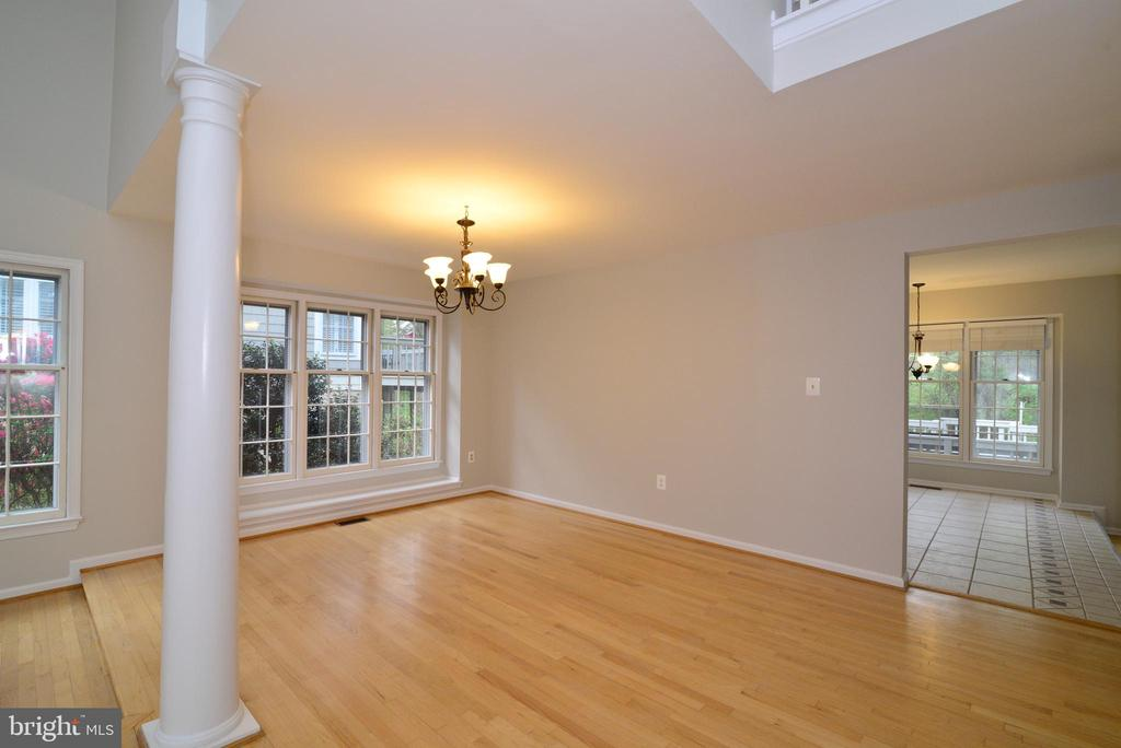 Dining Room View #3 - 11612 OLD BROOKVILLE CT, RESTON
