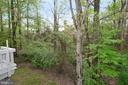 Backyard Views - 11612 OLD BROOKVILLE CT, RESTON