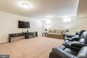 Create a relaxing space in the basement - 17 WAGONEERS LN, STAFFORD