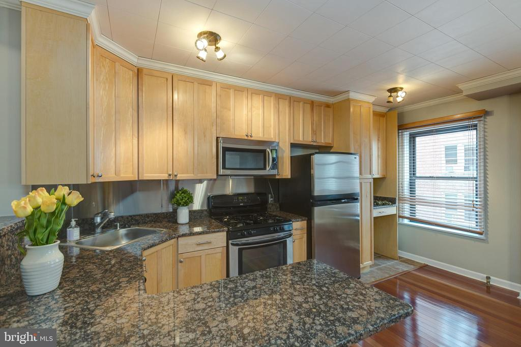 Granite countertops and stainless steel appliances - 2100 19TH ST NW #604, WASHINGTON