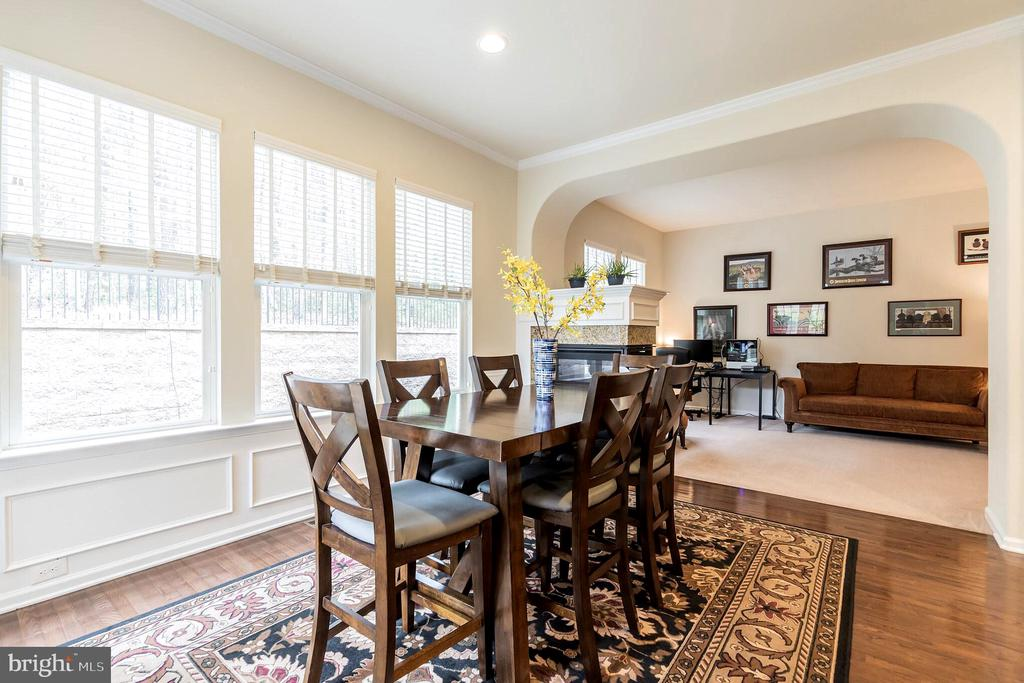 Enjoy meals in the dining room - 17 WAGONEERS LN, STAFFORD