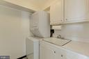 Laundry Room in Condo - 4620 N PARK AVE #1005E, CHEVY CHASE