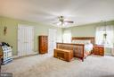 Master bedroom - 12504 SINGLE OAK RD, FREDERICKSBURG