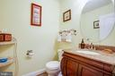 Half bath main floor - 12504 SINGLE OAK RD, FREDERICKSBURG