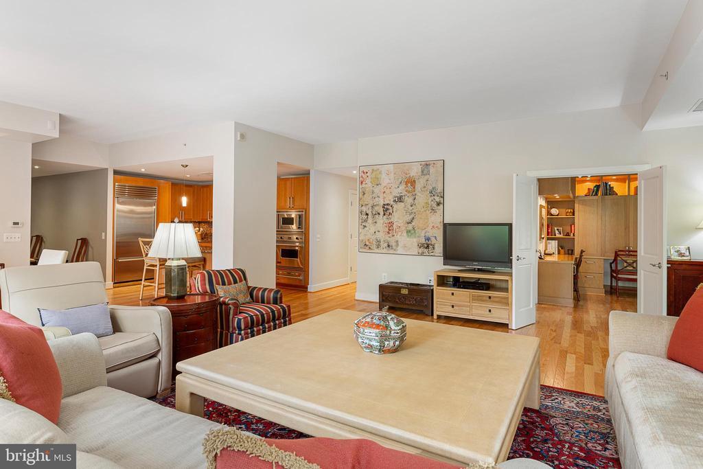 Living Room - 2425 L ST NW #240, WASHINGTON