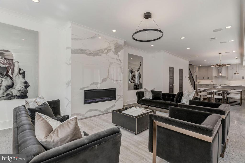 Living Room - 17 FREDERICK DOUGLASS CT NE, WASHINGTON