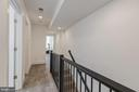 Second Level Hallway - 17 FREDERICK DOUGLASS CT NE, WASHINGTON