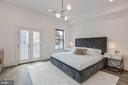 Owner Bedroom w/ Juliet Balcony - 17 FREDERICK DOUGLASS CT NE, WASHINGTON