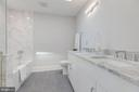 Owner Bath w/ Double Vanity - 17 FREDERICK DOUGLASS CT NE, WASHINGTON
