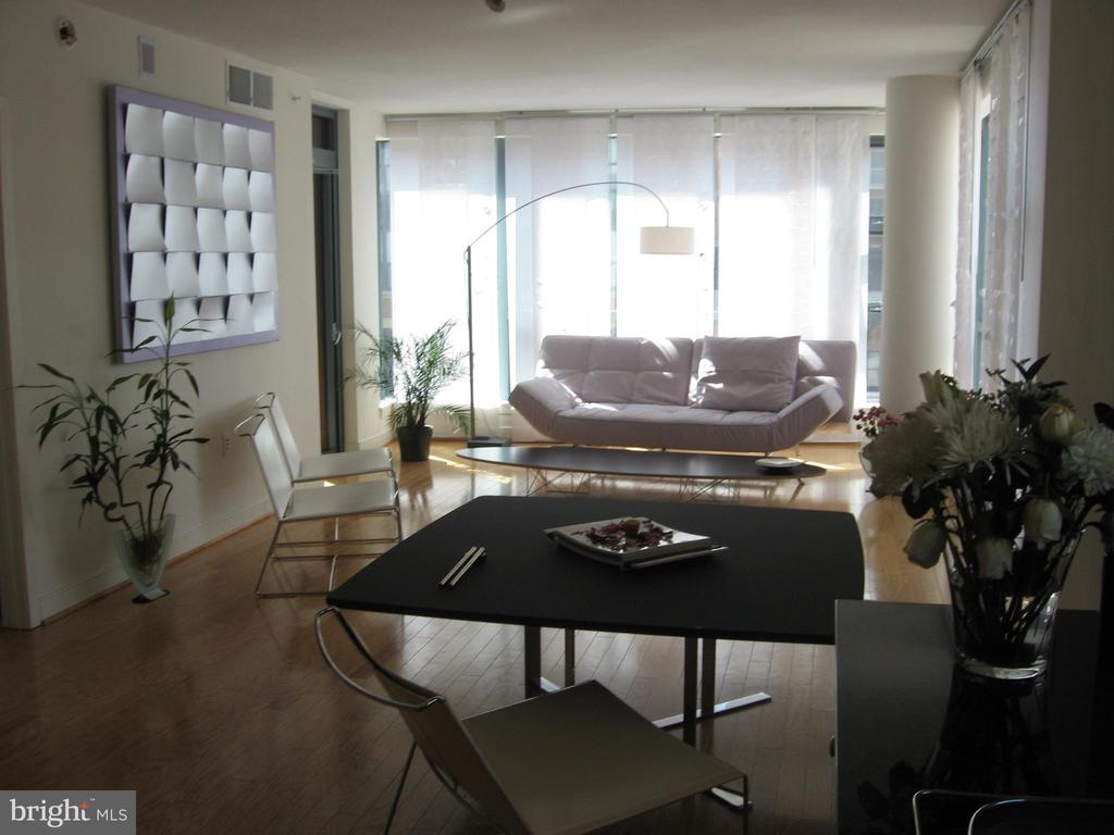 Open Dining/Living Room - 1117 10TH ST NW #504, WASHINGTON