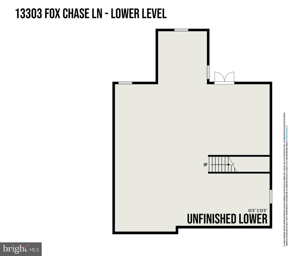 Unfinished basement - Haven Plan - 278 ANDERSON RD, FREDERICKSBURG