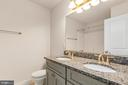 Double vanity in hall bath - 278 ANDERSON RD, FREDERICKSBURG