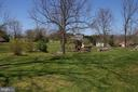 View of permanent play area from the deck. - 162 NOEL, MARTINSBURG