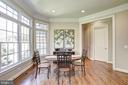 Kitchen table space with tons of natural light - 40989 GRENATA PRESERVE PL, LEESBURG