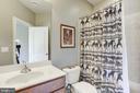 En Suite full bathroom with Bedroom #4 - 40989 GRENATA PRESERVE PL, LEESBURG