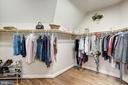 Huge master closet #1 - 40989 GRENATA PRESERVE PL, LEESBURG