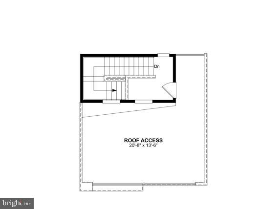 Fourth Level Floor Plan - 1012 SOUTH TAYLOR ST, ARLINGTON