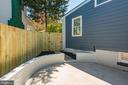 Hardscape Backyard - 3701 SOUTH DAKOTA AVE NE, WASHINGTON
