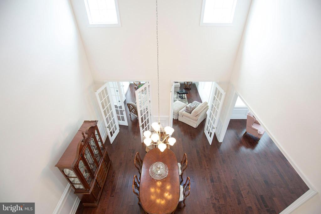 Overlook Into Two Story Dining Room - 11504 PEGASUS CT, UPPER MARLBORO