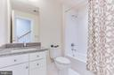 Full bath next door, - 3160 VIRGINIA BLUEBELL CT, FAIRFAX