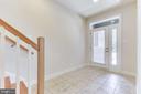 Entry level foyer ... - 3160 VIRGINIA BLUEBELL CT, FAIRFAX