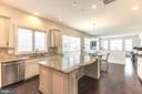 Gourmet Kitchen - 11504 PEGASUS CT, UPPER MARLBORO
