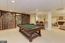 Lower Level - Game Room - 11517 HIGHLAND FARM RD, POTOMAC