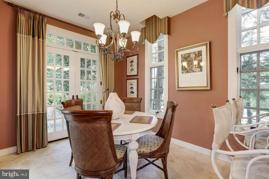 Guest House - Dining Room - 11517 HIGHLAND FARM RD, POTOMAC