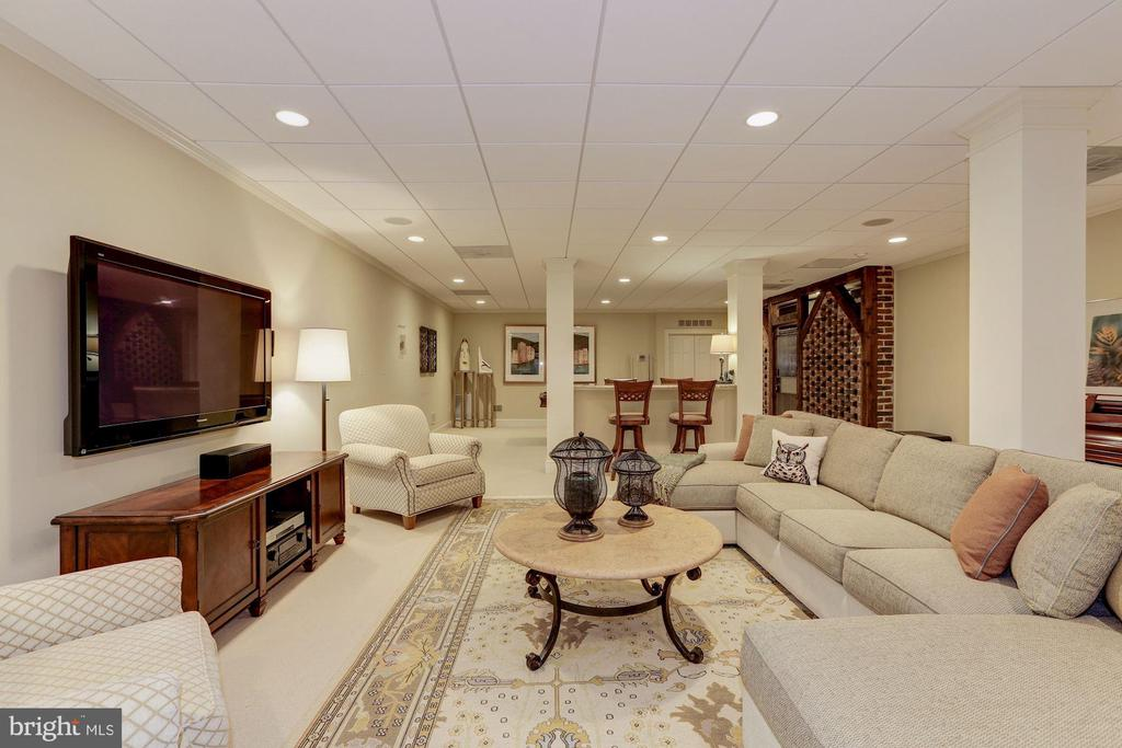 Lower Level - Recreation Room - 11517 HIGHLAND FARM RD, POTOMAC